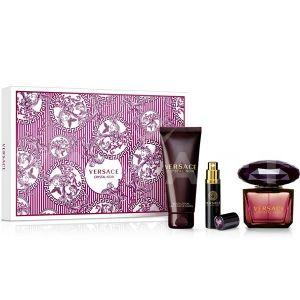 Versace Crystal Noir Eau de Parfum 90ml + Eau de Parfum 10ml + Body Lotion 100ml дамски комплект