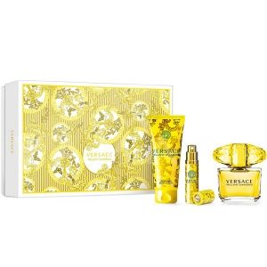 Versace Yellow Diamond Eau de Toilette 90ml + Body Lotion 100ml + Eau de Toilette 10ml дамски комплект