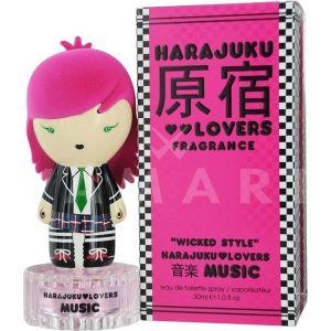 Harajuku Lovers Music Eau de Toilette 100ml дамски без опаковка