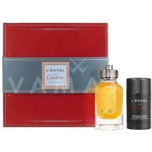 Cartier L`Envol de Cartier Eau de Parfum 80ml + Deodorant Stick 75ml мъжки комплект