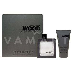 Dsquared2 He Wood Silver Wind Wood Eau de Toilette 50ml + After Shave Balm 100ml мъжки комплект