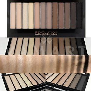 Makeup Revolution London Redemption Palette Iconic Elements Палитра сенки 12 цвята