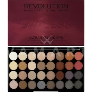 Makeup Revolution London Ultra 32 Shade Flawless 2 Eyeshadow Palette Палитра сенки 32 цвята