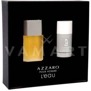 Azzaro Pour Homme L'Eau Eau de Toilette 50ml + Deodorant Stick 75ml мъжки комплект