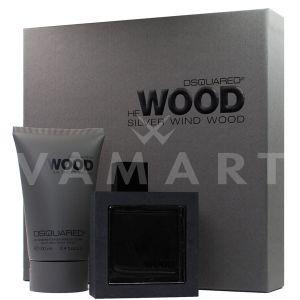 Dsquared2 He Wood Silver Wind Wood Eau de Toilette 50ml + Shower gel 100ml мъжки комплект