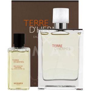 Hermes Terre d'Hermes Eau Tres Fraiche Eau De Toilette 75ml + Shower Gel 40ml мъжки комплект