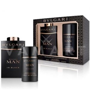 Bvlgari Man In Black Eau de Parfum 100ml + Deodorant Stick 75ml мъжки комплект