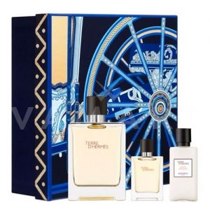 Hermes Terre d'Hermes Eau de Toilette 100ml + After Shave Balm 40ml + Eau de Toilette 12,5ml мъжки комплект