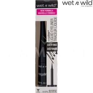 Wet n Wild Очна линия MegaLiner Liquid Eyeliner 8711 Black