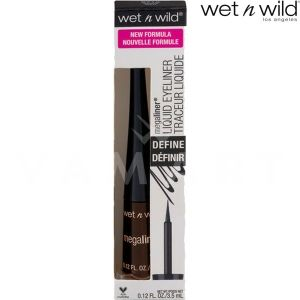 Wet n Wild Очна линия MegaLiner Liquid Eyeliner 8721 Dark Brown