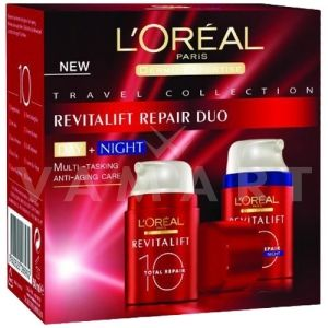 L'oreal Paris Revitalift 10 Repair Duo Day & Night Cream 2x50ml Дневен и Нощен хидратиращ крем против стареене