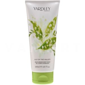 Yardley London Lily of the Valley Moisturising Bogy Wash 200ml дамски