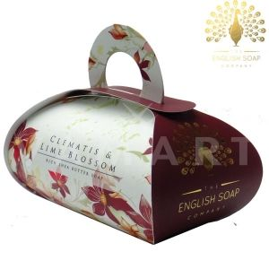 The English Soap Company Luxury Gift Clematis & Lime Blossom Луксозен сапун 260g