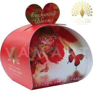 The English Soap Company Luxury Gift Enchanted Blooms Луксозен сапун 3 x 20g