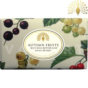 The English Soap Company Vintage Autumn Fruits Луксозен сапун ексфолиращ 200g