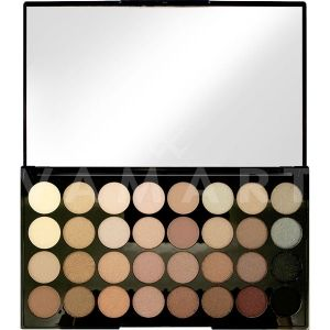 Makeup Revolution London Ultra 32 Shade Beyond Flawless Eyeshadow Palette Палитра сенки 32 цвята