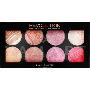 Makeup Revolution London Blush Palette Queen Палитра ружове 8 цвята
