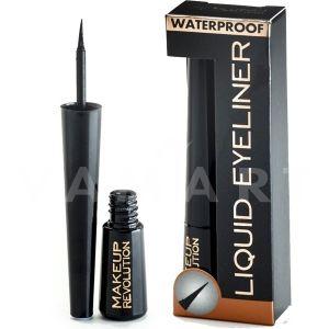 Makeup Revolution London Amazing Liquid Eyeliner Waterproof Водоустоичива Очна линия черна