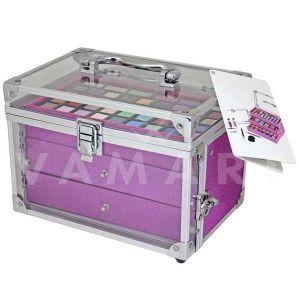 Makeup Trading Beauty Case II Козметичен комплект с прозрачно куфарче