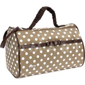 Reed Tiffany Козметична чанта с кръгло огледало и външен джоб