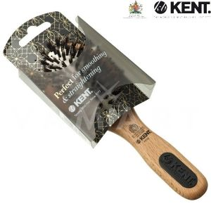 Kent. Hair Brush Perfect For Smoothing Straightening Четка за коса, комбинирана