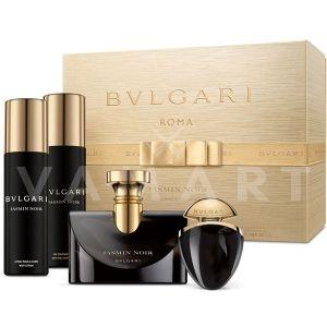 Bvlgari Jasmin Noir Eau de Parfum 100ml + Eau de Parfum 25ml + Body Lotion 200ml + Bath & Shower Gel 200ml дамски комплект
