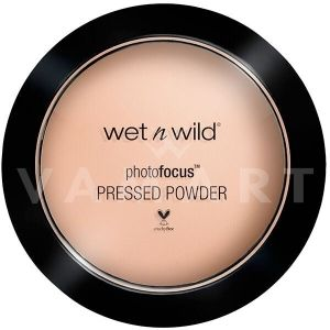 Wet n Wild Photo Focus Pressed Powder Компактна пудра 823 Neutral Beige