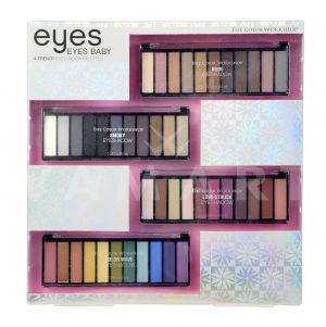 Markwins The Color Workshop Eyes Eyes Baby Козметичен комплект от 4 палитри сенки