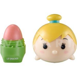 Lip Smacker Disney Tsum Tsum Tinkerbell Lip Balm Балсам за устни с аромат на праскова