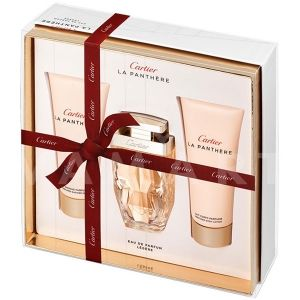 Cartier La Panthere Legere Eau de Parfum 75ml + Body Lotion 100ml + Shower Gel 100ml дамски комплект