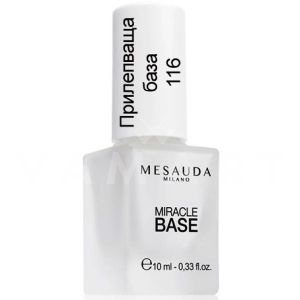 Mesauda Milano Nail Care Miracle Base Long Lasting Nail Base Coat прилепваща база за нокти 116