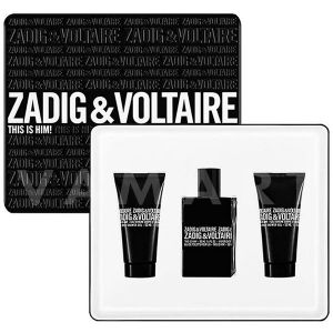 Zadig & Voltaire This is Him Eau de Toilette 50ml + Shower Gel 2 x 50ml мъжки комплект