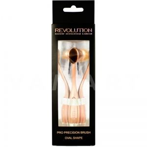 Makeup Revolution London Precision Pro Brush Oval Shape Четка за хайлайтери и контури
