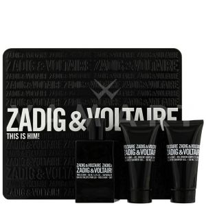 Zadig & Voltaire This is Him Eau de Toilette 100ml + Shower Gel 2 x 75ml мъжки комплект