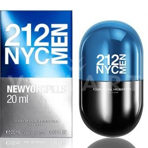 Carolina Herrera 212 NYC Men Pills Eau de Toilette 20ml мъжки