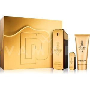 Paco Rabanne 1 Million Eau de Toilette 100ml + Eau de Toilette 10ml + Shower Gel 100ml мъжки комплект