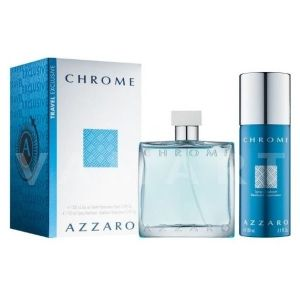Azzaro Chrome Eau de Toilette 100ml + Deodorant Spray 150ml мъжки комплект