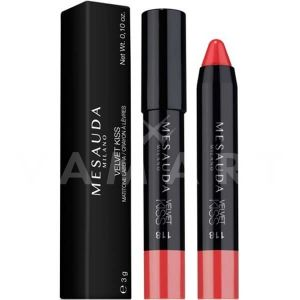 Mesauda Milano Velvet Kiss Chubby Lip Pencil Матово червило молив 118 Holiday