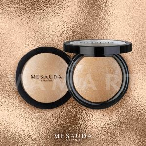 Mesauda Milano Highlighting Powders 100 Gold sheen