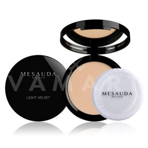 Mesauda Milano Light Velvet Compact Powder Матираща компактна пудра 102 Almond