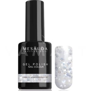 Mesauda Milano Gel Polish Nail Colour Mini 126 Heavy Metal Гел лак UV или LED лампа
