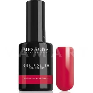 Mesauda Milano Gel Polish Nail Colour Mini 55 Pure Red Гел лак UV или LED лампа