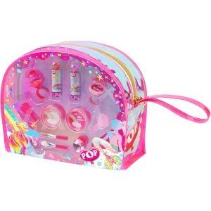 Markwins Pop Glitter kingdom beauty tote Детски козметичен комплект