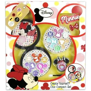 Markwins Disney Minnie Mouse Create Yourself Chic Compact Set Детски козметичен комплект