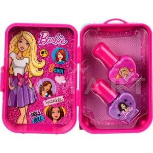 Markwins Barbie Fab Mini Trolley Nail Set Детски козметичен комплект за нокти