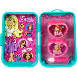 Markwins Barbie Fab Mini Trolley Lip Set Детски козметичен комплект за устни