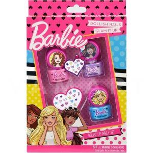 Markwins Barbie Doll Nails set Детски козметичен комплект за нокти