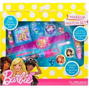 Markwins Barbie Makeup Watch set Детски козметичен комплект с часовник