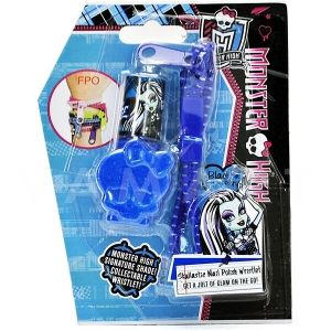 Markwins Monster High! Skullastic Nail Polish Wristlet Детски козметичен комплект