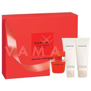 Narciso Rodriguez Narciso Rouge Eau de Parfum 50ml + Body Lotion 75ml + Shower Gel 75ml дамски комплект